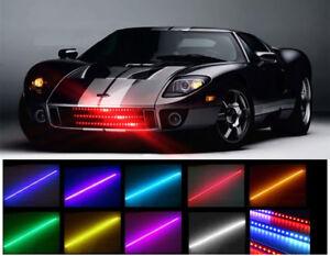 7 COLOR 48 LED RGB WATERPROOF KNIGHT RIDER LED LIGHT SCANNER - FLASH STROBE KIT