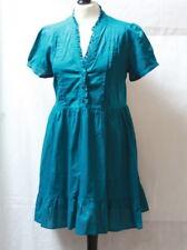 Robe courte bleu canard t. 42