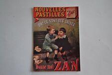 """Carte postal F.Nugeron """"Nos publicités 1900"""""""