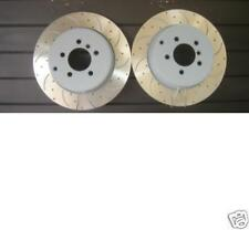 RANGE ROVER 3.0TD6 BRAKE DISC REAR CROSS DRILLED GROOVED