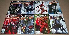 Secret Invasion #1 2 3 4 5 6 7 8 (2008) COMPLETE SET RUN Skrulls Marvel