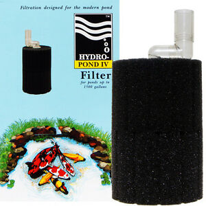 Hydro Pond Filter 4, for Ponds, Aquarium Sump Systems; by ATI, AAP