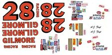 #28 A.J. Foyt Gilmore Racing Chevy 1/24th - 1/25th Scale Waterslide Decals