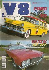 V8 MAGAZINE 43 FORD COUNTRY 55 BUICK ROADSTER 1927 APACHE 59 SKYLARK GS455 71