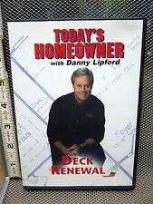 DANNY LIPFORD home improvement Deck Renewal DVD remodeling