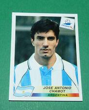 N°503 CHAMOT ARGENTINE ARGENTINA PANINI FOOTBALL FRANCE 98 1998 COUPE MONDE WM