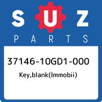 37146-10GD1-000 Suzuki Key,blank(immobii) 3714610GD1000, New Genuine OEM Part