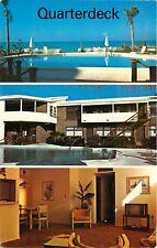 Venice, Florida, FL, Quarterdeck, Deluxe Resort Condominiums, Vtg Postcard b5045