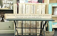 DOVER DECOR PRESENT GIFT WALL ART WOODEN HOUSE SIGN PLAQUE BY AUSTIN SLOAN