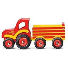 Wood Tractor Contemporary Manufacture Diecast Farm Vehicles