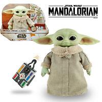 Baby Yoda Grogu The Child Animatronic Plush Star Wars Mandalorian Remote Control