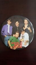 New Kids On The Block Button Large 6""