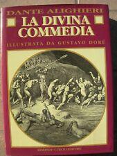 LA DIVINA COMMEDIA di DANTE ALIGHIERI ILLUSTRATA DA DORÉ ANASTATICA del 1993