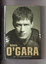 NEW ZEALAND RUGBY - RONAN O'GARA AUTOBIOGRAPHY - IRELAND - MUNSTER & CRUSADERS