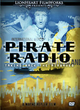 """""""Pirate Radio: Taking Back the Airwaves"""" rare NEW DVD - Rock & Roll documentary"""
