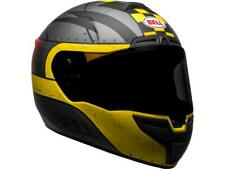 Casque intégral moto BELL SRT Devil May Care Matte Gray/Yellow/Red NEW 2020