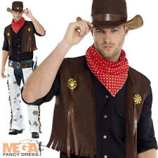 Black Wild West Cowboy Rodeo Outlaw Clint Eastwood Outfit New M L