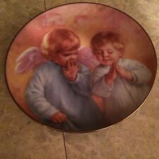 Heavenly Helper Heavenly Angels plate