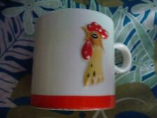VINTAGE HOLT T HOWARD ROOSTER COFFEE MUG, JAPAN 1961, SHIPS ANYWHERE TODAY