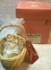 Vintage Collectible Bradley Doll Tiny Bisque Jointed Baby Doll
