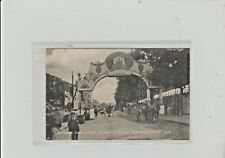 More details for bristol. childrens stand & arch, belgrave road. clifton decoration 9.7.1908.