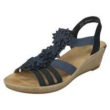 Velcro Floral Sandals for Women