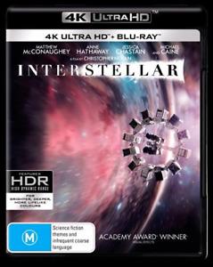 INTERSTELLAR 4K Ultra HD : NEW UHD Blu-Ray