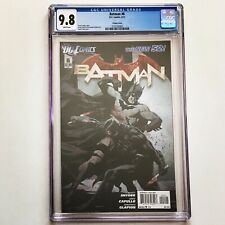 BATMAN #6 CGC 9.8 Retailer 1:25 VARIANT 1st App Court of Owls The New 52! 2012