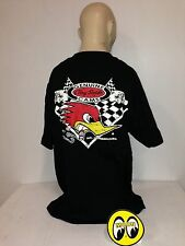 Mooneyes t-shirt Clay Smith sz L 1932 roadster hot rod ford gasser rockabilly
