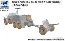 Bronco Models 1/35 Krupp Protze L 2 H 143 Kfz 69 (late) & 3.7cm Pak 36