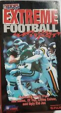 1993 NFL Rocks Extreme Football Music VHS Video Brand New Factory Sealed !!!