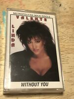 RARE Linda Valenti 'Without You' Freestyle Maxi Single Cassette 90s Hip Hop Pop
