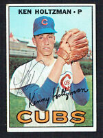 Ken Holtzman #185 signed autograph auto 1967 Topps Baseball Trading Card