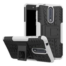Etui Hybride 2 PIÈCES EXTÉRIEUR BLANC housse étui pour Nokia 8 de protection