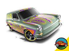 Hot Wheels Cars - Custom '69 Volkswagen Squareback Pale Green