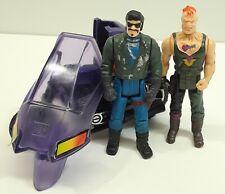 M.A.S.K Figure Vehicle Lot Piranha w Slyrax+ Bruno Stinger Vintage kenner rare