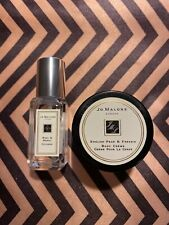 Jo Malone London Basil Neroli Cologne .3 oz/9ml & English Pear Body Cream 15ml