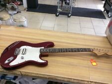 2001-2002 Tom Delonge Fender Stratocaster Made In Mexico Hot Rod Red