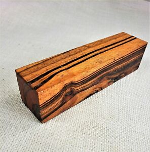 "1 Piece JOBILLO 1.5"" x 1.5"" x 6"" Wood Knife Handle Gun Grip Material - Blanks"