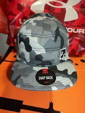 Nwt CAMO Under Armour Men's Quilted Snapback Cap Hat 1262163-001 OSFA HEATGEAR
