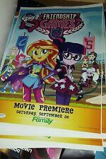 SDCC 2015 My Little Pony Equestria Girls Poster Friendship Games Premier