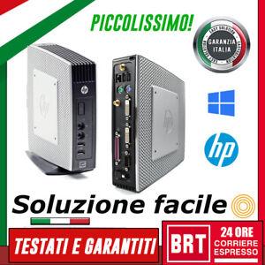 MINI PC SERVER COMPUTER FISSO USFF HP THIN CLIENT CPU VIA EDEN 4GB RAM SSD HDD!!