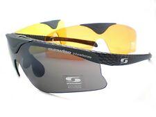 SUNWISE AUSTIN Interchangeable 4 Lens + Optical Clip Flip Up Front Sunglasses CB