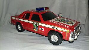 1993 SUPER RARE Buddy L Fire Chief Cruiser SLM INC Rescue Force Super Brute FD-4