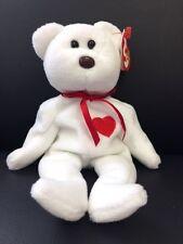Valentino TY Beanie Baby Tag ERROR White Original Collection