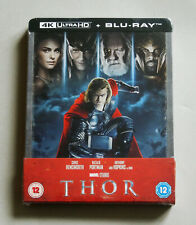 THOR - UK ZAVVI EXCLUSIVE 4K ULTRA HD + BLU-RAY STEELBOOK *NEW - LOOSE DISC ! 2