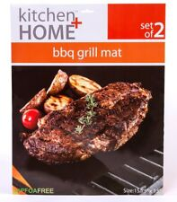 Bbq Grill Mat – Set of 2 Nonstick Heavy Duty Reusable Fda Approved Bake Sheets