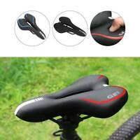 Bicycle Seat PU Bike Saddle Professional Bicycle Mountain Bike Accessorie 3Color