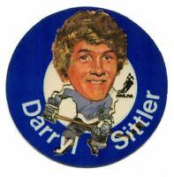 1973/74 Mac's Milk Darryl Sittler Cloth Sticker Toronto Maple Leafs