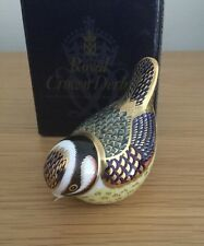 Royal Crown Derby Paperweight – BLUETIT  boxed